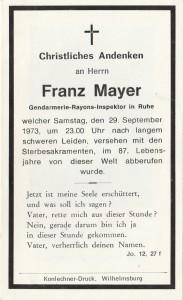 Mayer Franz, 1973